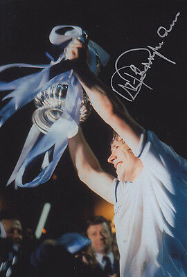 • HAND SIGNED 12x8 PHOTO TOTTENHAM 1981 STEVE PERRYMAN