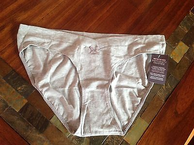 MOTHERHOOD MATERNITY - Maternity Bikini Panty - Grey - Size Large