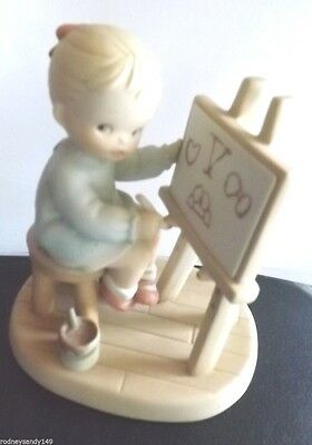 1992 Enesco Figurine 5 Years of Memories from Memories of Yesterday Collection