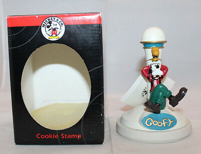 Disney Mickey & Co. Cookie Stamps Goofy Mold Press Handle Cookie Factory Box