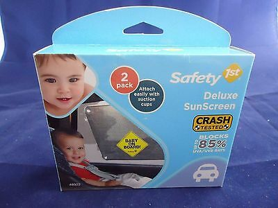 Safety First 2 Pack Baby On Board Deluxe Sunscreen