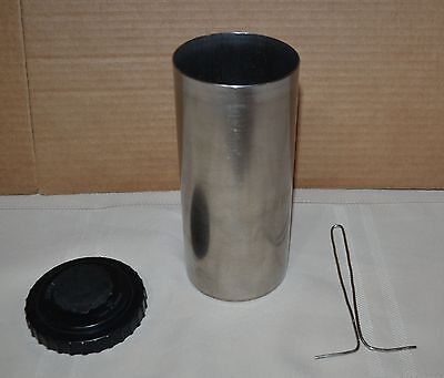 Kindermann Stainless Film Developing Tank Drum about 8.5 inches - Nice