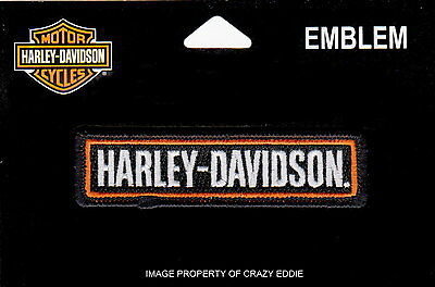 Harley Davidson Bar Vest Patch With Name Motorcycle Jacket Patch