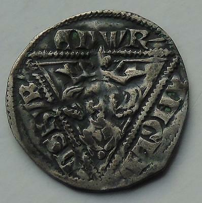 Ireland Edward I Hammmered Silver Penny of Dublin, Good Detail, Nice Coin