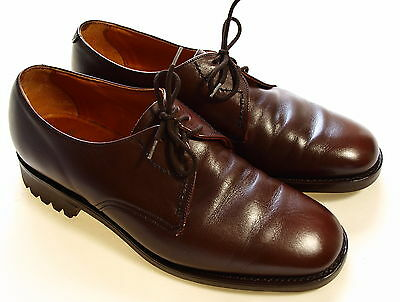 Superb Mens Loake Bros Country Shooting Hunting Commando Leather Shoes Uk 7