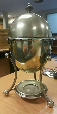 JAMES DIXON & SONS EGG CODDLER Sheffield Silver Plate Circ 19th Century