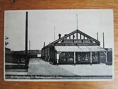 Old RP Postcard The Empire Stores The Parkway Larkhill Military Camp