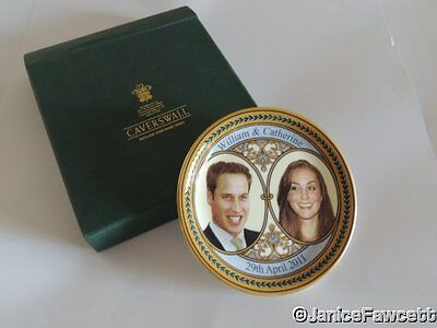Caverswall Pin Dish - Prince William and Catherine Middleton Wedding