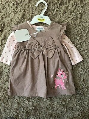 Brand New Baby Dress With Tag 3-6 Months