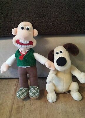 wallace and gromit soft toy teddy