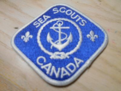 (Se7-R)  Sea Scouts Canada    Canadian Scout Badges