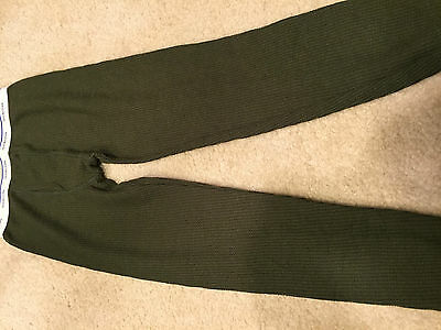 Boy's Fruit of the Loom Long Johns; Size L; Green