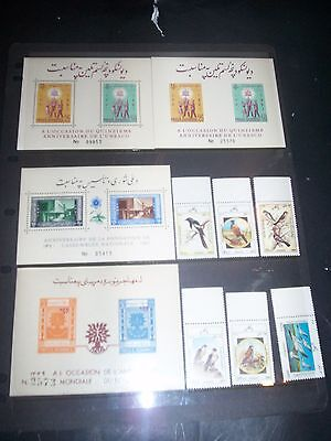 Afghanistan Fabulous lot of ss and bird stamps MNH Great Lot $$$ AFG18Dec