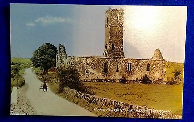 Moore abbey, Glen of Aherlow.Tipperary. Ireland. 1950's RP postcard.