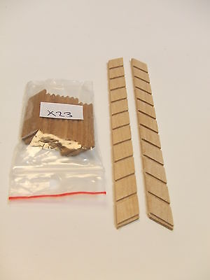 RB Model Ship Boat Wooden Steps Stairs Scale 1:22.5 (X23)