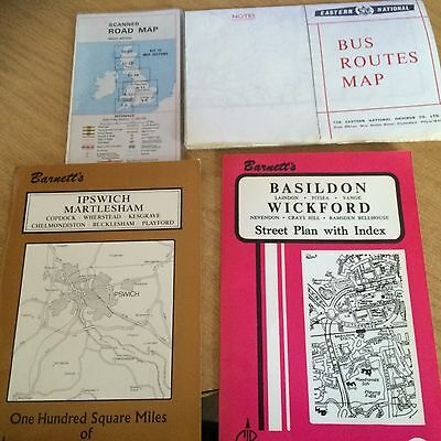 Vintage Maps And Bus Routes