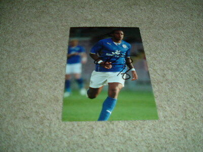 Neil Danns - Leicester City - Signed 6 X 4 Photograph