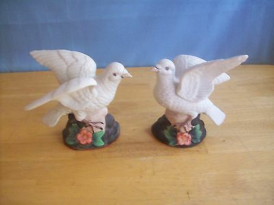 Set Of 2 Dove Figurines