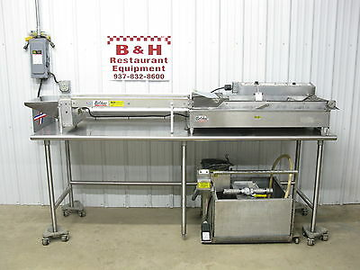 Belshaw Mark 6 MK VI Donut Robot Fryer w/ Feed Table FTD6W EZ6 Melt Filter