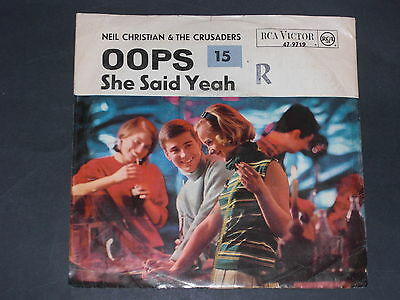 7-Single-Beat-NEIL CHRISTIAN & THE CRUSADERS-Oops