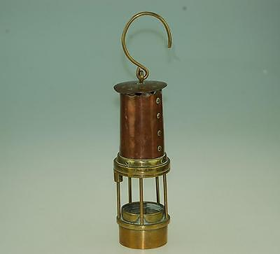 Williams Brass and Copper Miners Lamp – Model unknown