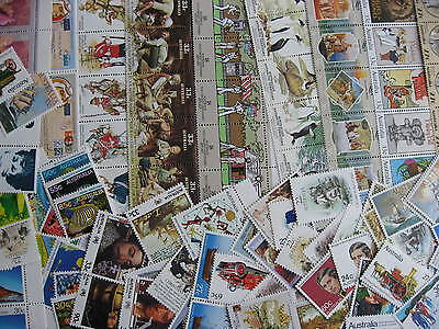 AUSTRALIA postage lot $37 A$ face value, mostly different MNH, mixed condition