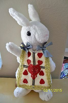 Alice In Wonderland Plush White Bunny Rabbit Purse Costume Accessory Uaa1521