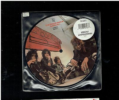 Dogs D'amour Satellite Kid Picture Disc 1989