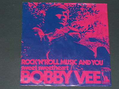 7-Single-70er-BOBBY VEE-Rock'n Roll Music and you