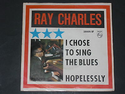 7-Single-60er-RAY CHARLES-I chose to sing the Blues