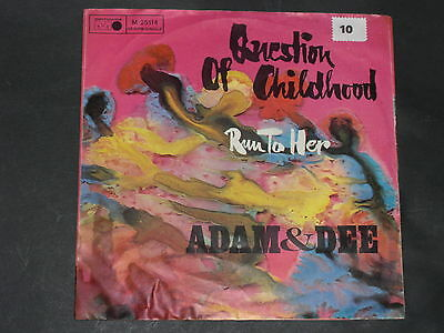 7-Single-60er-Pop-Rock-ADAM & DEE-Question of childhood