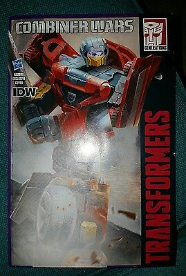 Transformers Combiner Wars Dead End variant cover