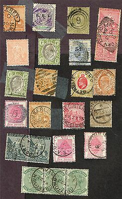 South Africa States Some Nice Cancels   (Prl17