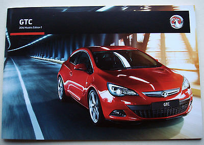 Vauxhall . GTC . 2016 Models Edition 1 . Sales Brochure