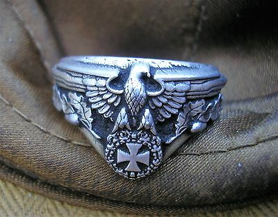 GERMAN RING eagle with oak leaves