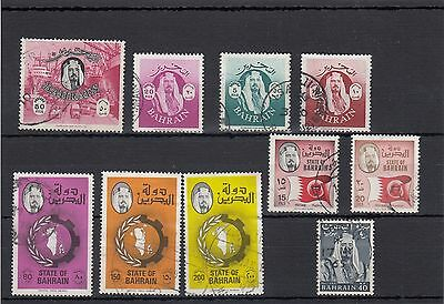Bahrain.10 -- Used Recent Stamps On Stockcard.