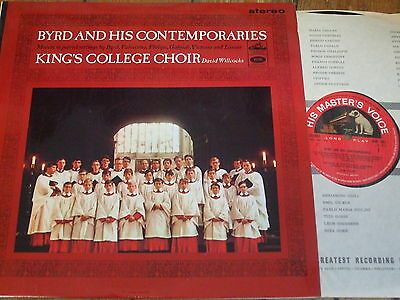 ASD 641 Byrd and his Contemporaries / Willcocks / King's College S/C