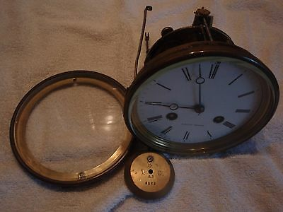 Brocot Escapement 8-day French Clock Movement marble/mantel/bracket