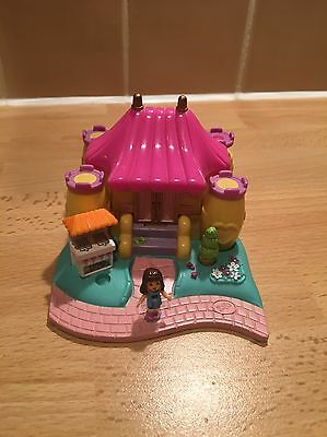 Polly Pocket Bouncy Castle 1996 With Original Figure