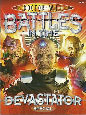 Doctor Who Battes in Time DEVASTATOR SPECIAL MAGAZINE - Excellent Condition