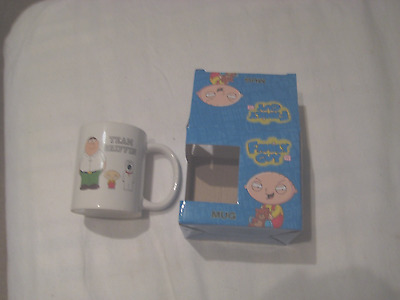 Family Guy Team Griffin mug.Boxed,only out for photo,excellent unused condition.