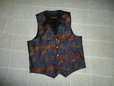 Mens Waistcoat  By James Mc Convey Size M Chest 40""