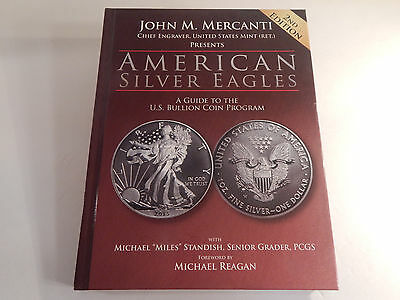 AMERICAN SILVER EAGLES John M. Mercanti 2013 Hardcover 2nd Edition Coin Guide