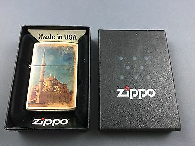 ZIPPO Blue Mosque (Sultan Ahmed Mosque) limited lighter very rare collectible
