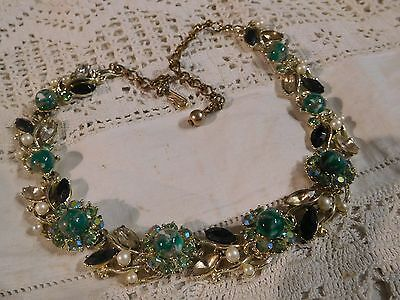 Gorgeous Vintage 1950s Necklace by BSK