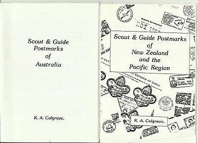 Australia & New Zealand Boy Scout & Girl Guide Postmarks Two Books By Colgrave