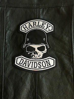 Harley Davidson Backpatch G.Willis Skull Biker Kutte Chopper MC ohne Kutte