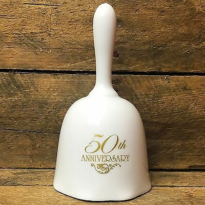 50th Anniversary Bell porcelain