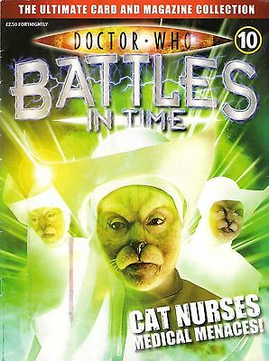 Doctor Who Battles In Time Issue 10  Cat Nurses  Magazine