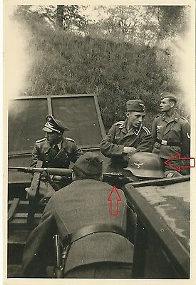 WW2 German Top !! Troops  K98 Mauser Training Nice Technical   Photo !!!